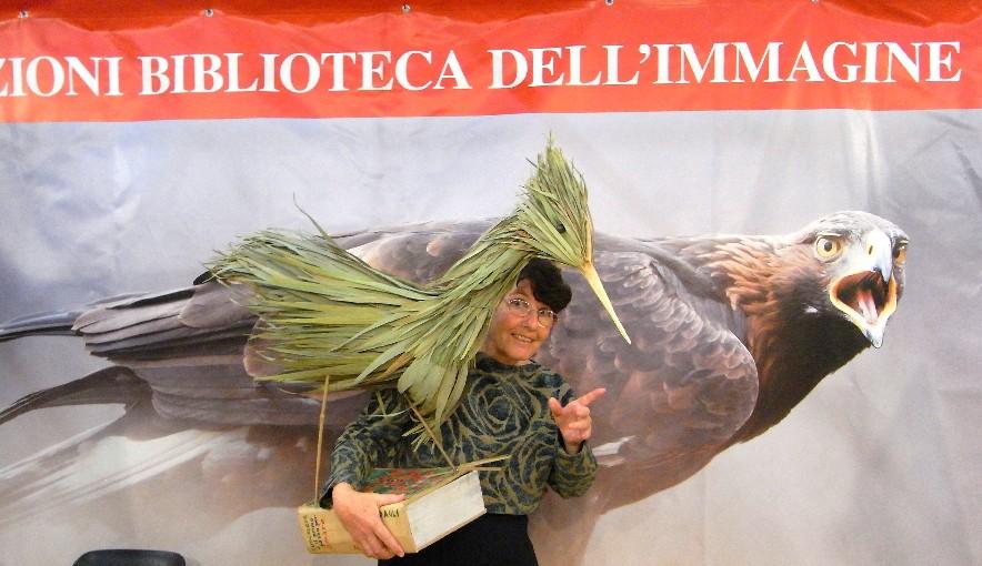 uccello di foglie e bambù al Salone del Libro di Torino 2013