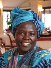 Wangari_Maathai_potrait_by_Martin_Rowe