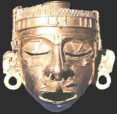 maschera azteca