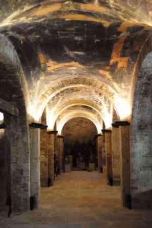 interno della fornace di Piegaro, sede del museo - foto di Nicolai Biancucci su visitpiegaro.com