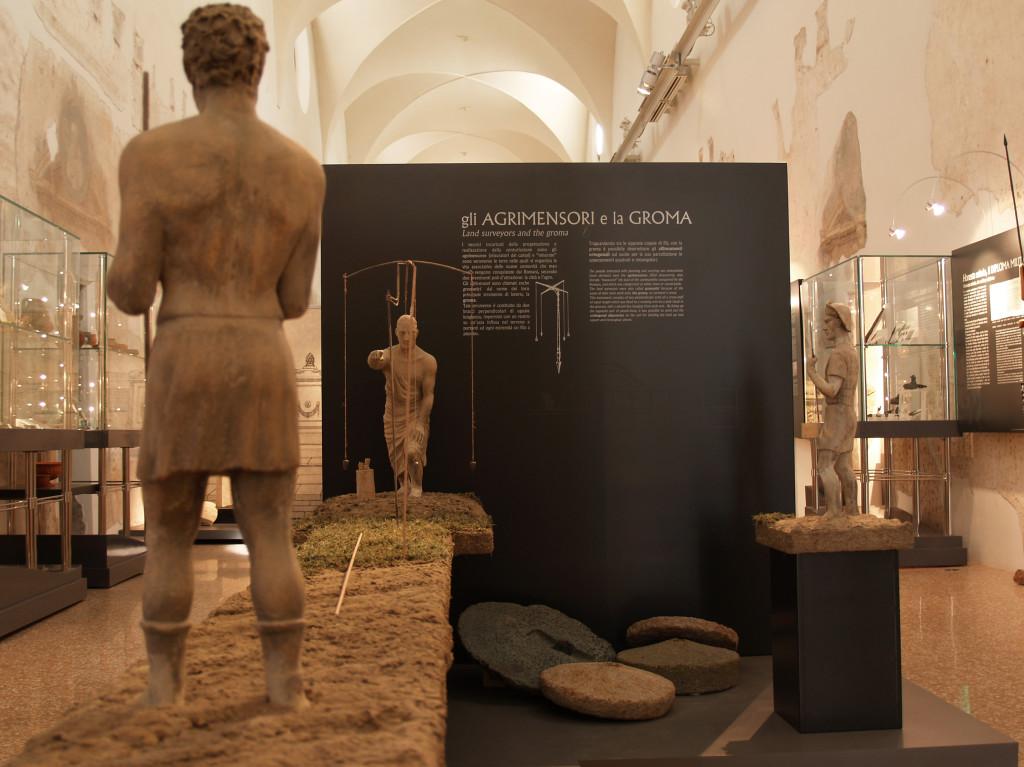 il lavoro degli agrimensori - foto proprietà del museo