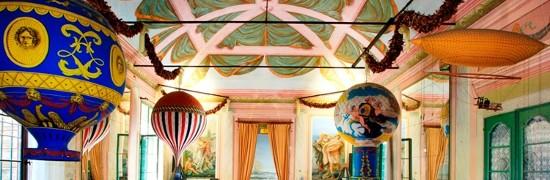 sala delle mongolfiere nel museo - foto dal sito del museo